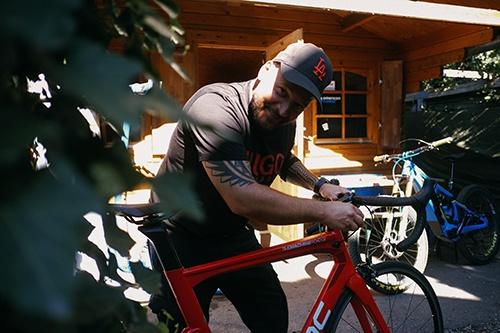 Fahrrad Inspektion und Wartung